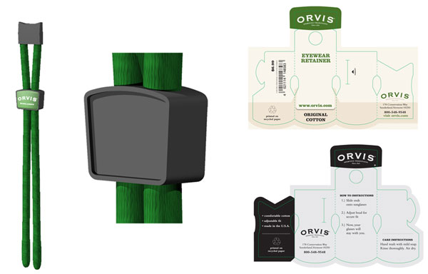 Orvis Lanyard Concept and Packaging